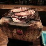 六文銭 - 料理写真:自分のタイミングで焼けます(´∀`)