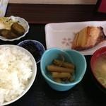 駅前食堂 - 朝定食500円