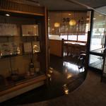 京料理・割烹 洛々 - 館内入口