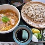 昌久 - 料理写真:親子丼ランチ(せいろとのセット)