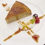 ワイズドッグカフェ ル・ジャルダン - バナナのケーキ