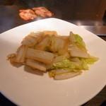 ニュー松坂 - 白菜は甘くて少し柔らかでした