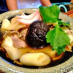 19917455 - とり蕎麦(温・中)