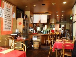 サンセール - 昔の喫茶店みたいな内装