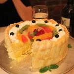 エリオ・ロカンダ・イタリアーナ - マンゴームースのケーキ