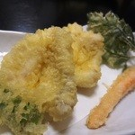 うえ村 - 湘西ふぐの天ぷらと季節野菜の天ぷら