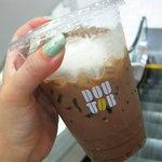 ドトールコーヒーショップ - クリーム入りのアイスココア!