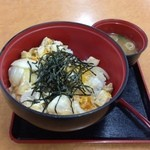 道の駅 針テラス ノースリリィ フードコート - 親子丼(゚ー,゚*)ジュルルル( д )ゲキマズー