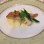 ホテル蔵王メッツ - 金目鯛の…