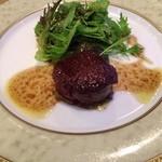 ホテル蔵王メッツ - 牛フィレ肉の…