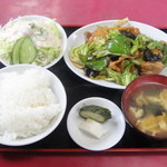 蘭房食堂 - 回鍋肉定食