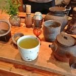 ワド オモテナシ カフェ - 在来種のお茶