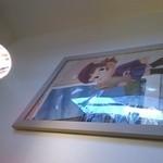 19925706 - この照明も絵も凝ってるなあ