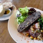 cafe nei - 大豆と挽き肉のキーマカレー
