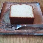 里芋とがらぱごす - レモンパウンドケーキ