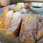 Cafe Gold Coast - かなりボリュームあります!
