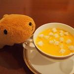19926332 - パンプキンのスープ♪