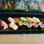 起寿司 - 特上(竹)2000円