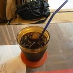 貴船倶楽部 - アイスコーヒー¥550