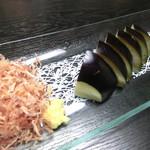 寿hisa - <アラカルト>水なすの刺身