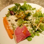 元気な食卓 - サラダ二皿目