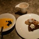 元気な食卓 - デザートにミロ