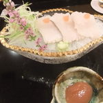 壽山 - 2013/07 鱧の焼霜造り ウマー