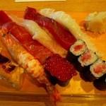 成田江戸ッ子寿司 - おまかせにぎり(\1680)