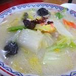 19934554 - 海鮮刀削麺 塩 880円