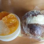 洋菓子 赤ずきん - ゼリーとシュークリーム