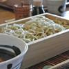 Ishimame - 料理写真:冷たいおそば「とりごぼう」
