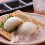 浪漫家 - 大豆の風味が豊かな『京都北山寄せ豆富』 国産大豆にこだわり、昔ながらの手づくりのお豆富。