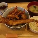 丸福 - 特天丼¥700
