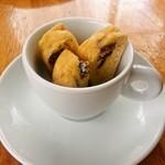 カフェレストラン ラヴィータ - ビスコッティ、嬉しいサービス♡