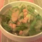 らららカレー - カレーについてきたサラダ