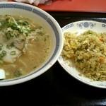 あずま - 料理写真:やきめし(小盛)&ラーメンセット