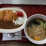 山田うどん - 料理写真:自分的お気に入りの一式