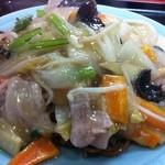 八寶園分店 - 料理写真:あんかけヤキソバ