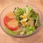 デンバープレミアム - 120円のサラダ頼んでみたけど案の定申し訳程度サラダ