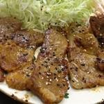 定食の店 ごんべ - 豚ロースみそ漬け焼きのアップ~☆(第二回投稿分②)