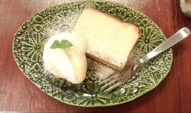 ノカケ - ゴルゴンゾーラのチーズケーキ