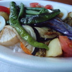 19948631 - それにしても凄い野菜の種類と量です