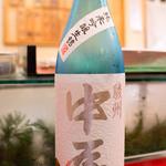 東家 - 駿州中屋 夏酒 純米吟醸生詰 2013.7.5