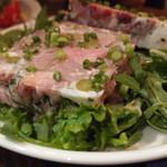 リベルタン - 豚肩ロースのゼリー寄せサラダ1,200円