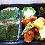 2丁目SOZAI - から揚げ明太弁当530円