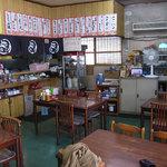 Fukuya - テーブル席。