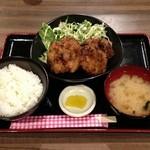 まう - からあげ定食(500円)
