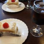 NOEN - ケーキとアイスコーヒー