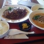 19962685 - ランチ 柔らか煮定食(坦坦麺にグレードアップ) 辛さ2