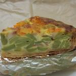 ラ・ヴィエイユ・フランス - 海老とそら豆のキッシュ